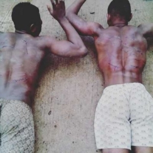 View This And See What They Did To These Two Boys In A Nigerian University